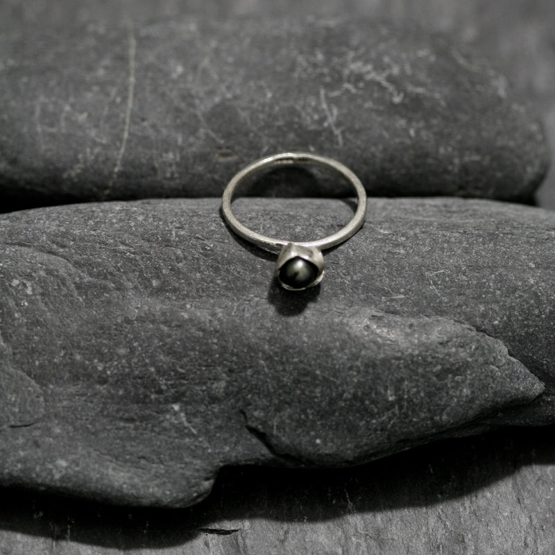 Pearl and Bud Ring
