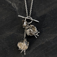 Peony Double Necklace