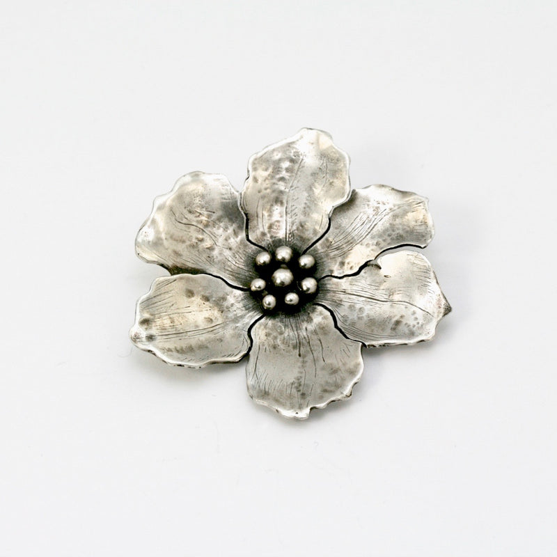 Large Wild Rose Brooch