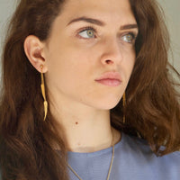 Willow Leaf Earrings