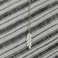 Californian Poppy Leaf Necklace