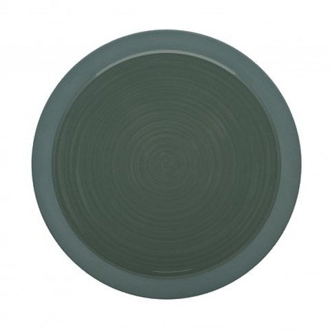 Image of Bahia Green Clay Dessert Salad Plate 9 Inches, (23cm) by Guy Degrenne