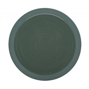 Bahia Green Clay Dessert Salad Plate 9 Inches, (23cm) by Guy Degrenne