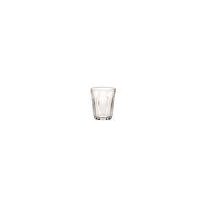 Duralex - Provence Clear Drinking Glass Tumbler, 3oz. (90ml) Set of 6