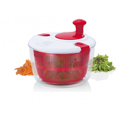 Image of Brilliant - Salad Spinner Vegetable Dryer, Red