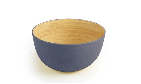 Image of Brilliant - Gray Colored Bamboo Bowl 5.5 inches, Set of 4