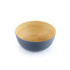 Brilliant - Grey Colored Bamboo Bowl 9 inches