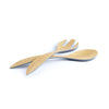 Brilliant - Grey Colored Bamboo Salad Server Set of 2