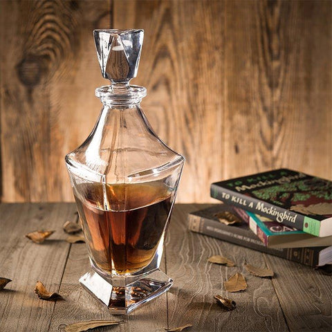 Triangle Shaped Decanter for Alcohol 750 ml
