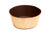 Bark Bamboo Bowls 8 Inches, Set of 2