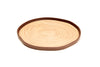 Bark Bamboo Dinner Plates 10 Inches, Set of 4