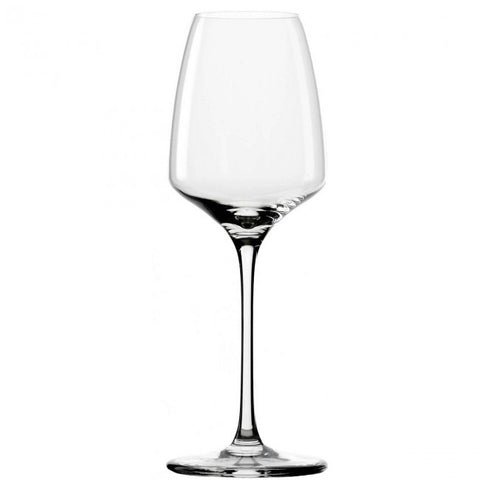 Guy Degrenne - Muse Crystal Clear White Wine Glass with Stem, 9 oz. Set of 6