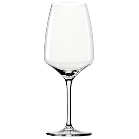 Image of Guy Degrenne - Muse Crystal Clear Bordeaux Wine Glass with Stem, 21.5 oz. Set of 6