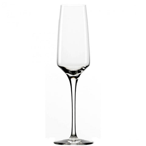 Guy Degrenne - Muse Crystal Clear Champagne Flute Glass, 6 oz. Set of 6