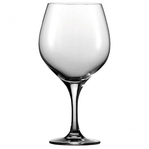 Guy Degrenne - Montmartre Crystal Clear Burgundy Wine Glass with Stem, 19 oz. Set of 6
