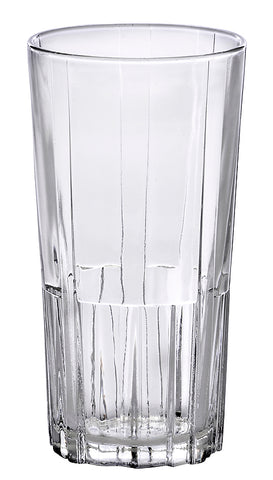 Image of Duralex Highball Jazz Tempered Glass Tumbler 9 Ounces, Set of 6