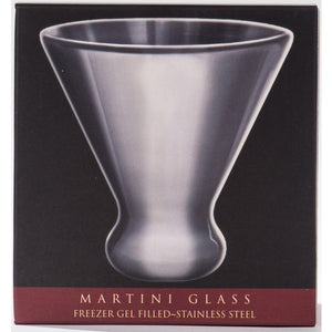CorkPops - Nicholas Stainless Steel Martini Glass
