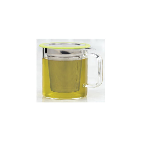 Image of Brilliant - Jasmine Tea Mug and Stainless Steel Infuser with lid and Handle
