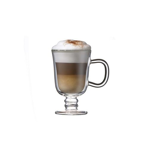 Image of Double Wall Irish Coffee Glass Mug 7.5 oz. Set of 2, by Brilliant