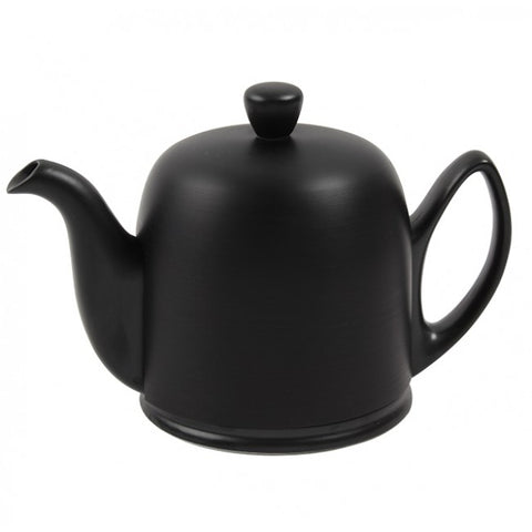 Salam Total Black Matte Look 6 Cup Teapot 33.8oz. By Guy Degrenne