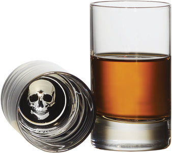 Brilliant - Skull/Pirate's Potion Shot Glass, 2 oz. Set of 4