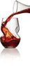 Brilliant - Tourbillon Aerating Twisted Stemless Wine Glasses, 8.oz. Set of 2