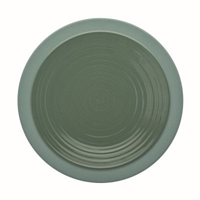 Image of Bahia Green Clay Dinner Plate 10 ¼ Inches, (26cm) by Guy Degrenne