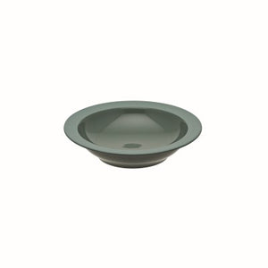 Bahia Green Clay Soup Bowl with Rim 7 7/8 Inches, (20cm) by Guy Degrenne