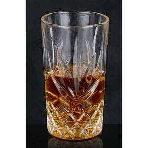 Brilliant - Ashford Lead Free Crystal Clear Highball Glass 10.5oz. (320ml) Set of 4