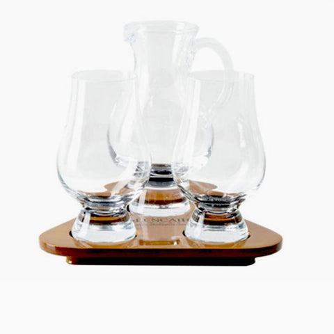 Image of Glencairn Whisky Set, 2 Glencairn Glasses, Glencairn Jug and Glencairn Presentation Tray