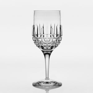 Brilliant - Luxembourg Crystal Clear Wine Glass with Stem 7.4 oz. (220ml) Set of 4