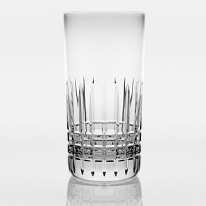 Brilliant - Luxembourg Crystal Clear Highball Glass Tumbler 10.8 oz. (320ml) Set of 4