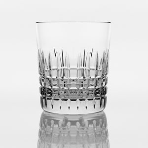 Brilliant - Luxembourg Crystal Clear Old Fashioned Glass Tumbler 9.5 oz. (250ml) Set of 4