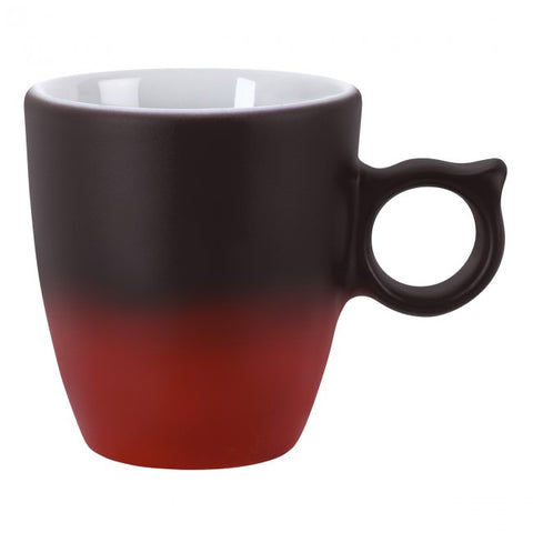 Guy Degrenne - Illusions Color Changing Espresso Cup, Set of 2, Red