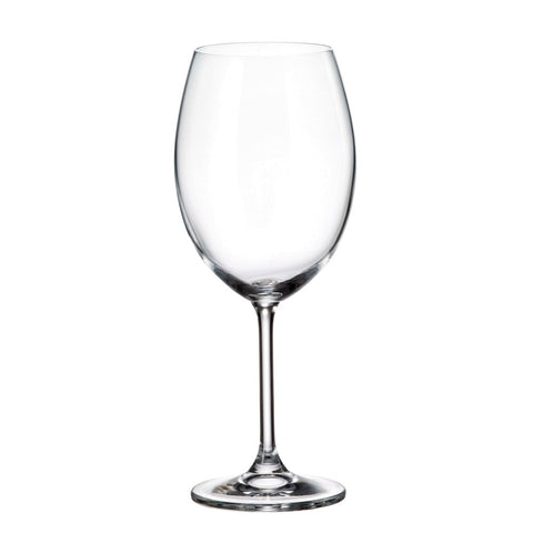 Gastro Large Universal Stemmed Glasses Set of 6, 19.5 Ounces