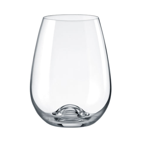Image of Brilliant - Gastro Lead Free Crystal Stemless Red Wine Glass, 15.5 oz. Set of 6