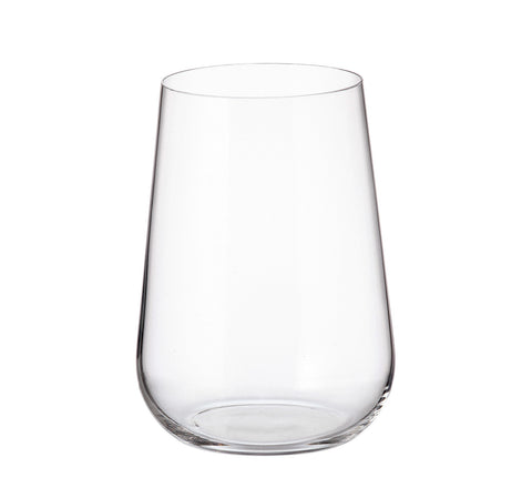 Crystalite Bohemia - Amundsen/Ardea Stemless Highball Glasses 16 Ounces (470ml) Set of 6