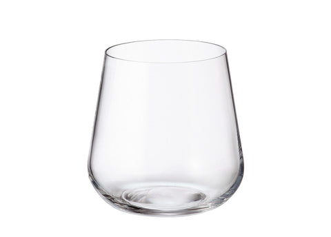Image of Crystalite Bohemia - Amundsen/Ardea Stemless Old Fashioned Glasses 11 Ounces (320ml) Set of 6
