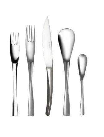 Image of Guy Degrenne - XY Flatware 5 pc Set