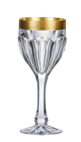 Image of Bohemia Crystal- Safari Gold Red Wine/Goblet 6 oz. Set of 6