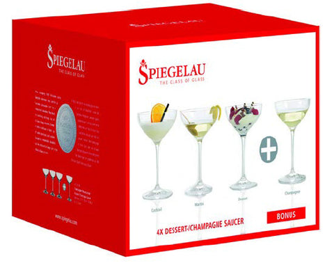 Image of Spiegelau Dessert/Champagne Glasses Set Of 4 250ml