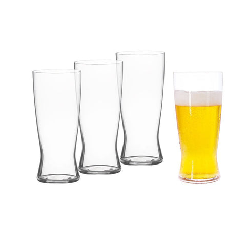 Spiegelau - Beer Classics Lager/Helles Large Beer Glasses 0.5 Liters, Set of 4