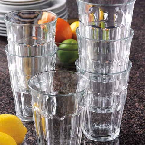 Duralex - Picardie Clear Tumbler 500 ml - 17 oz Set Of 4