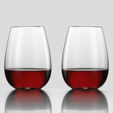 Eisch Breathable Superior Stemless Glass 20oz Set Of 2