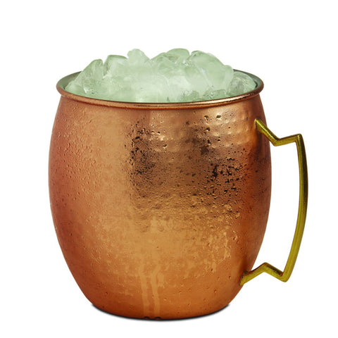 Image of Brilliant - Giant Hammered Moscow Mule Copper Ice Bucket Mug, 2.7Liters
