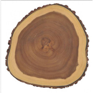 Brilliant - Organic Acacia Two-Sided Wooden Cutting Board, Tree Rings