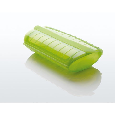 Lékué - Silicone Food Steamer Case for 1 - 2 Servings, Green