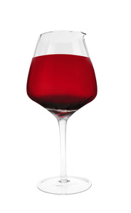 Cuisivin - Optical Wine Glass Decanter in the Shape of an Oversized Wine Glass, Holds 52oz.