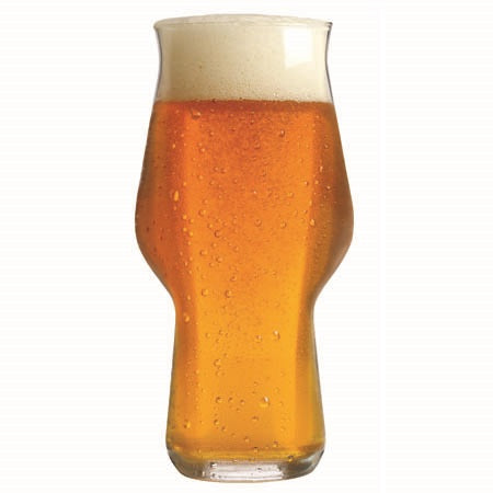 Image of Master Brew Sienna Craft Beer Glasses 16oz. Set of 2