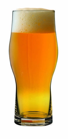 Master Brew Ochre Craft Beer Glasses 16 oz. Set of 2